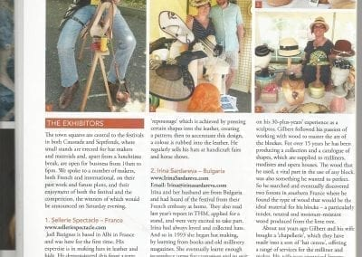 Article HAT Magazine - Caussade 2016-3