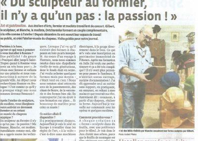 Article Le Progrès 2014