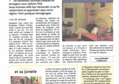 Article Roanne Agglo 2010