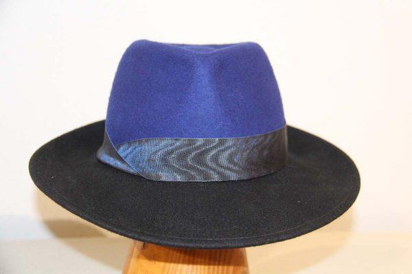 Bicolore homme bleu et noir 1